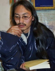 Tibetan writer, teacher and father of two, Gangkye Drupa Kyab