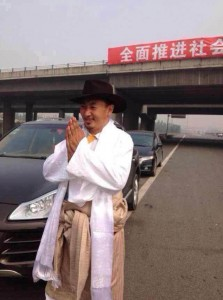 Jolep Dawa acknowledges friends and well-wishers on his release from Mianyang Prison