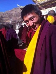 Lobsang Palden's whereabouts and condition remain unknown after his self-immolation