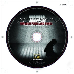 DVD cover of 'Through Flesh and Bones: Stories of Torture and Survival in Tibet'
