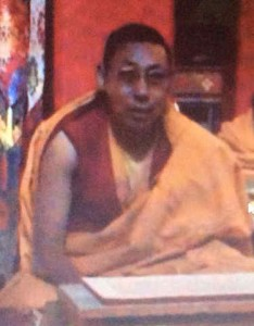 Senior Tibetan Buddhist scholar Tenzin Lhundrup arrested and disappeared in May 2014.