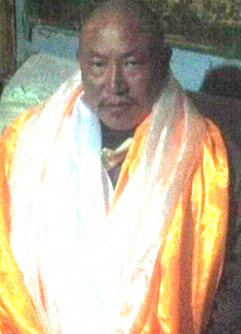Ngawang Gyurmey in a photo taken soon after his release from prison