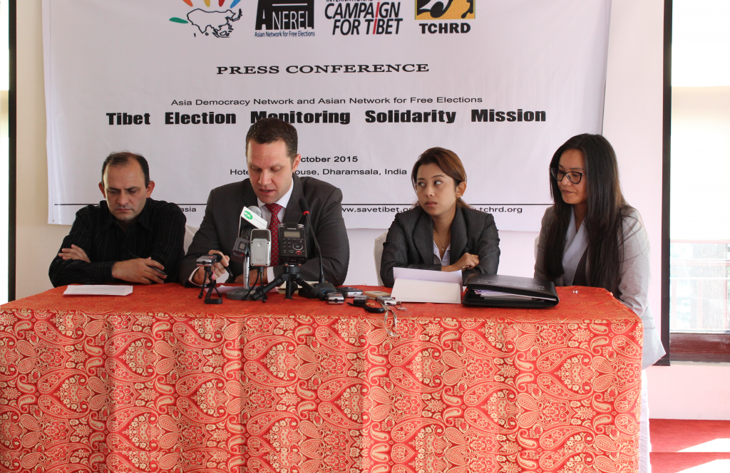 From left: Mr Pradip Ghimire, Mr Ryan D. Whelan, Ms Kanchan Khatri and Ms Tsering Tsomo