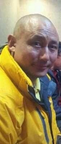 Lodoe Gyatso soon after his release