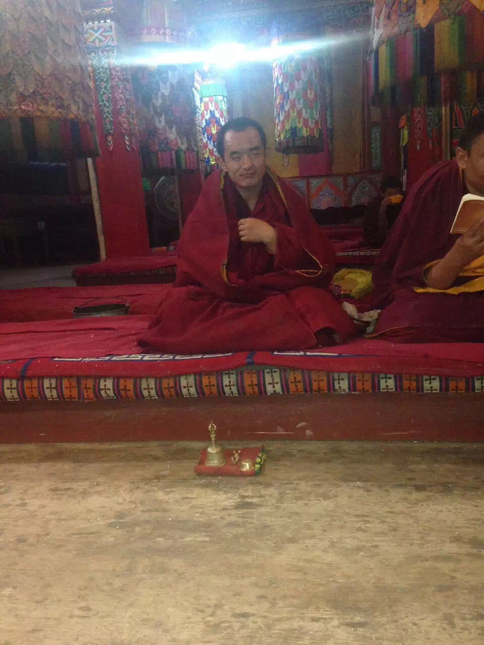 Lone protester Lobsang Tsering's whereabouts remains unknown